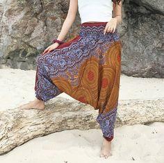 Harem Pants – Harem Pants,Baggy Pants,Ethno Pants – a unique product by La-Fleura on DaWanda