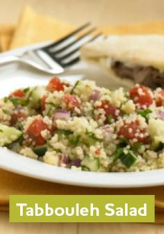 This Tabbouleh Salad is the ideal summer salad- fresh, zesty, and only takes 25 minutes to make!