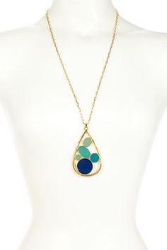 Trina Turk Jewelry Blowout: Seaglass Pendant Necklace