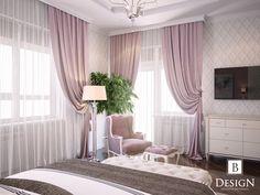 #спальня #розовый #шторы #бродская #белый #дизайн #интерьер #дизайнер #торшер #кресло #интерьер #design #interior #bed #bedroom #pink #lamp #brodskaya #tv #blind