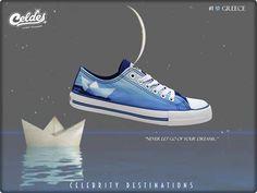 Little paper boat, dreams, moon, Greece Paper Boats, Painted Shoes, Comfy Shoes, Greece, Destinations, Converse, Celebrity, Moon, Dreams
