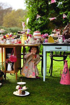 Summer tea party inspiration | Richard Truscott shot the Autumn Winter 2012 Monsoon childrenswear campaign (Stylist - Joy Drefus/Hair & Make up - Esther Chandler)
