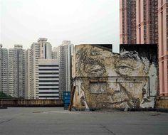 Exposições - Vhils deixa a sua marca no cais de Hong Kong - Artes - DN