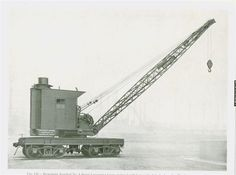 Truck Mounted Crane, Locomotive Engine, Old Trains, Bay City, Model Trains, Abandoned Places, America, Legos, Yards