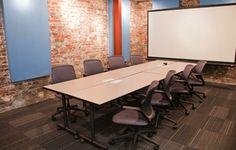 Coworking Space - CoWork Jax,  Jacksonville, USA/ The Brick! Our biggest meeting room.