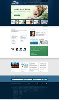 Horizon Eye Care | Website Design