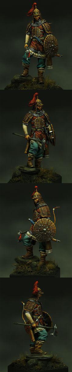 Mongolian Warrior - Box Art