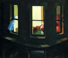 Night Windows, Edward Hopper