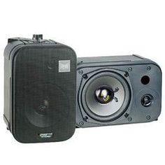 Pyle PDMN48 5'' Two-Way Bass Reflex Mini-Monitor & Bookshelf/wall mount Speakers