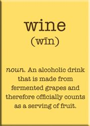 Wine   The recommended 2-3 servings per day