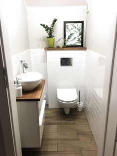 Wc Ideas & Wc wc ideas / wc design & wc & wc ideas downstairs loo & wc ideas & wcw quotes & wcw quotes woman & wcw woman crush wednesday & wc design modern</p> Small Downstairs Toilet, Small Toilet Room, Downstairs Bathroom, Small Bathroom, Bathroom Ideas, Bathroom Vanities, Wc Design, Toilet Design, Bad Inspiration