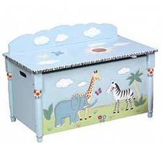 Safari Toy Box