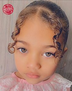 Black Toddler Hairstyles, Cute Hairstyles For Kids, Baby Girl Hairstyles, Cool Hairstyles, Black Hairstyles, Beautiful Babies, Beautiful Children, Mix Baby Girl, Natural Hair Styles