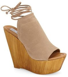 Steve Madden Sophie wedges in taupe                                                                                                                                                     More