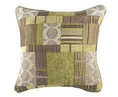 Cuscino arredo misto cotone Scottish verde - 43x43 cm