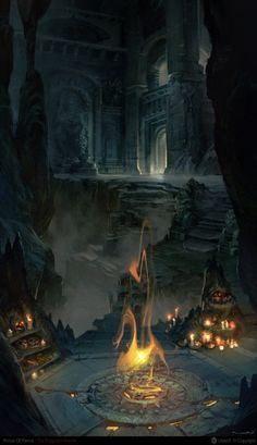 ...The tomb of flames is constantly on fire. It is what keeps the living out...