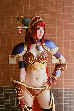 World of Warcraft Alexstraza Cosplay- I'll be wearing much more clothes than that.
