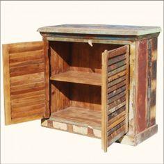 Maak zelf een #keukenkastje van #sloophout. Doe het zelf voorbeeld.