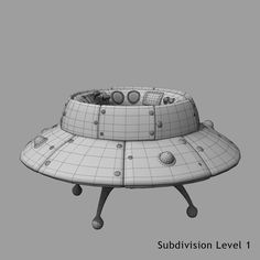 Cartoon Space Ship Model available on Turbo Squid, the world's leading provider of digital models for visualization, films, television, and games. Polygon Modeling, 3d Modeling, Spaceship 3d Model, Aviation Engineering, 3d Tutorial, Flying Saucer, 3d Cartoon, Retro Futurism, Cinema 4d
