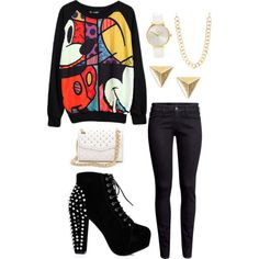 A fashion look from January 2014 featuring H&M jeans, Rebecca Minkoff shoulder bags and Nixon watches. Browse and shop related looks.