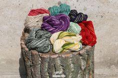 my handspun yarn