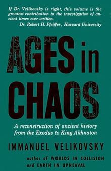 Velikovsky is working on Ages in Chaos (1952), and plans another book to answer the objections of geologists and astronomers. Speculation on future collisions inspired the title of this article.