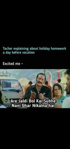 Jokes Quotes, Memes, Holiday Homework, Bollywood Funny, Best Love Lyrics, Akshay Kumar, Funny Jokes, Vacation, Vacations