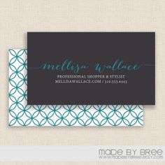 Double sided business card with smoke effects psd design free business card template double sided modern teal by madebybree 2200 accmission Choice Image