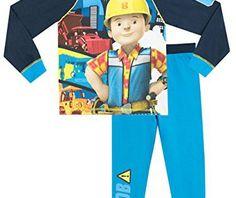Bob Le Bricoleur – Ensemble De Pyjamas – Bob The Builder – Garçon – 5 a 6 Ans: Pyjama pour garçons Bob le bricoleur. Il sera entièrement…