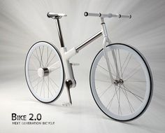 Amazing bicycle by Nils Sveje