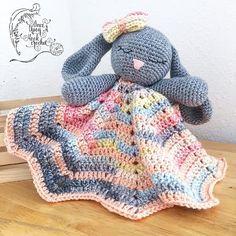 free crochet pattern for blanket loveys - Google Search