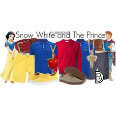 """""""Snow White and The Prince"""" by leslieakay on Polyvore"""