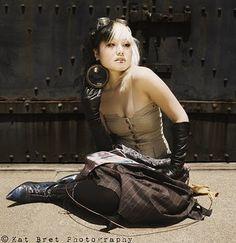 Steampunk Asian Fashion