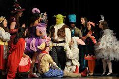 """Shrek"" at Pleasant Valley High School, 2015"