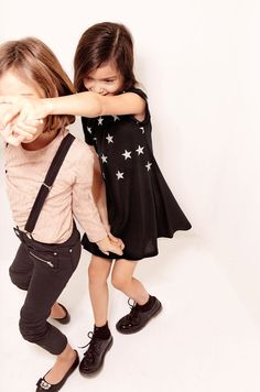 We just love the Zara kids lookbooks, the outfits are adorable, especially this star spotted dress ✕