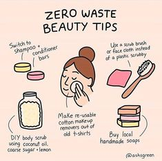Low waste beauty Zero waste beauty tips (DIY body scrub, reusable makeup wipes, shampoo and conditioner bars) Diy Utile, Natural Shampoo, Solid Shampoo, Natural Hair, Organic Shampoo, Natural Beauty, Diy Body Scrub, Diy Interior, Green Life