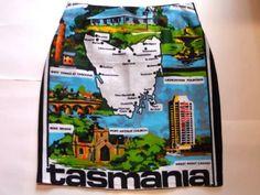 Size 12 Map of Tassie skirt