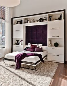 Trendy Bedroom Wardrobe Ideas Space Saving Built Ins Ideas Bed Design, Ikea Apartments, Home Bedroom, Bed Wall, Bedroom Design, Bedroom Furniture, Bed, Small Bedroom, Murphy Bed Ikea