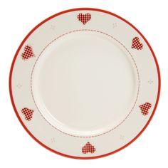 Assiette plate XMAS LOVE Marc Palluy pour NOVASTYL