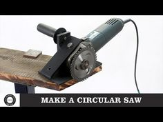 I converted my angle grinder to circular saw. This hack is very useful for woodworking. I made an attachment for converting the angle grinder to circular saw. Used Woodworking Tools, Welding Tools, Woodworking Magazines, Woodworking Bench, Woodworking Projects, Homemade Tools, Diy Tools, Hand Tools, Circular Saw Jig
