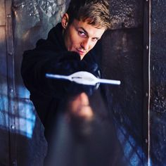 """Giles Matthey as Gideon in 6.16 """"Mother's Little Helper"""" - from Giles' Twitter"""