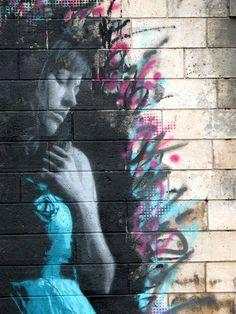 """Street art by """"Snik"""""""