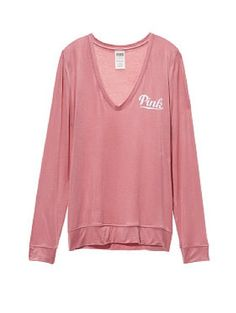 An L.A. Mama: Victoria's Secret Pink Pullover in Soft Begonia