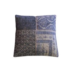 Pillow Patchwork small & large - dark blue