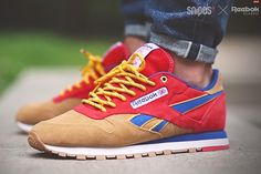 SNIPES X REEBOK CLASSIC LEATHER (CAMP OUT)  1d09d7984
