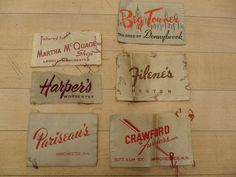 vintage clothing label - Google Search