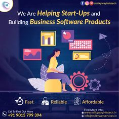 Milkyway Infotech helps to grow businesses by providing them fast, reliable and affordable software development services. Our developers are highly experienced and expert in building best quality business software products. Call ☎️ at : +91-9015-799-394 . . #software #softwaredevelopment #milkywayinfotech #softwaredesign #development #technology #developer #customsoftware #webdesign #websitedevelopment #startup #website #erpsoftware #hrmsoftware #branding Software Products, Business Software, Software Development, How To Find Out, Web Design, Branding, Technology, Website, Tech