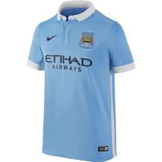Nike Youth Manchester City Home Stadium Jersey 15/16