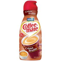 This is my favorite creamer EVER. It was the first one I tried from CoffeeMate because I hate creamers. But this is DELICIOUS. I have Peppermint Mocha right now, and it's nothing special. :/ Go with the creme brulee.