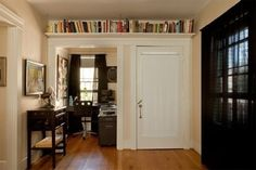 """Using Vertical Space: Patricia's """"Way Up High"""" Storage Solution 